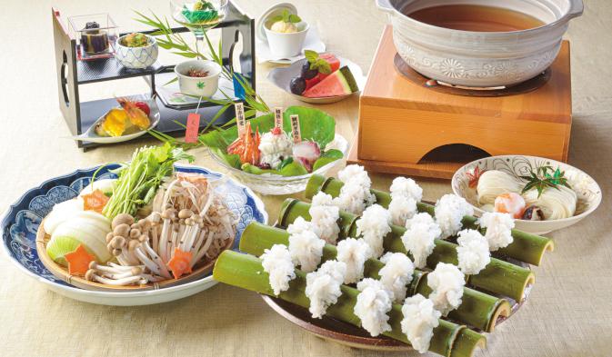ザ グラン リゾート エレガンテ京都の夏の料理イメージ写真01