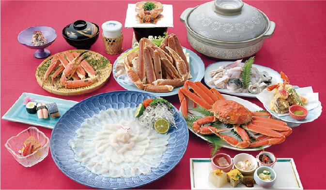 ザ グラン リゾート エレガンテ京都の冬の料理イメージ写真01