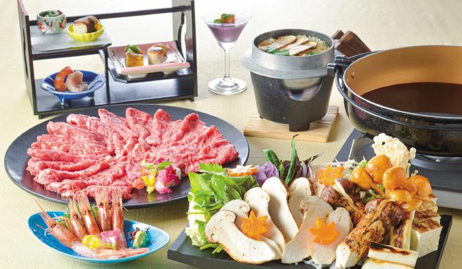 ザ グラン リゾート エレガンテ京都の秋の料理イメージ写真01
