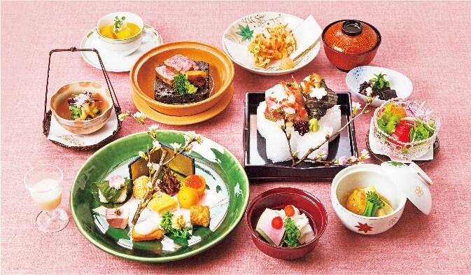 ザ グラン リゾート エレガンテ京都の春の料理イメージ写真01