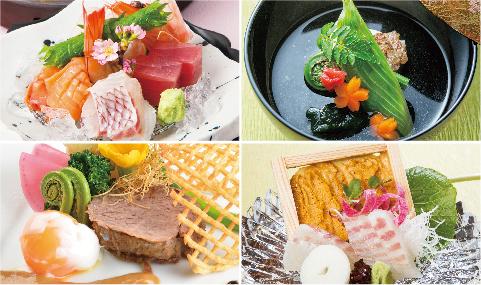 ザ グラン リゾート エレガンテ京都の春の料理イメージ写真02