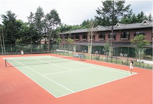 テニスコート(エレガンテ軽井沢)